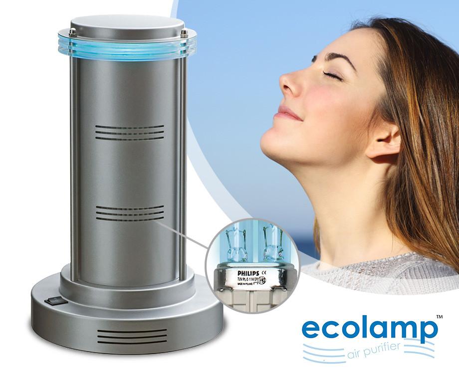 Ecolamp Voor Een Schone & Gezonde Lucht - Helpt o.a. Tegen Hooikoorts &