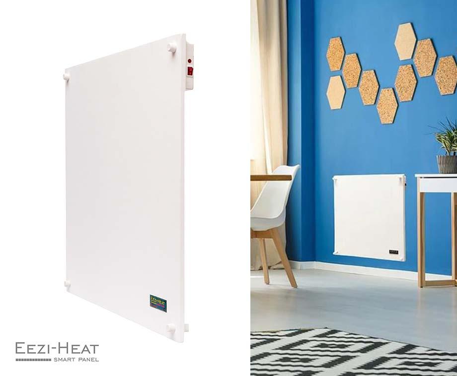 Foto Smart Panel Heater Met Wifi - Elektrische Convectorkachel Voor Aan...