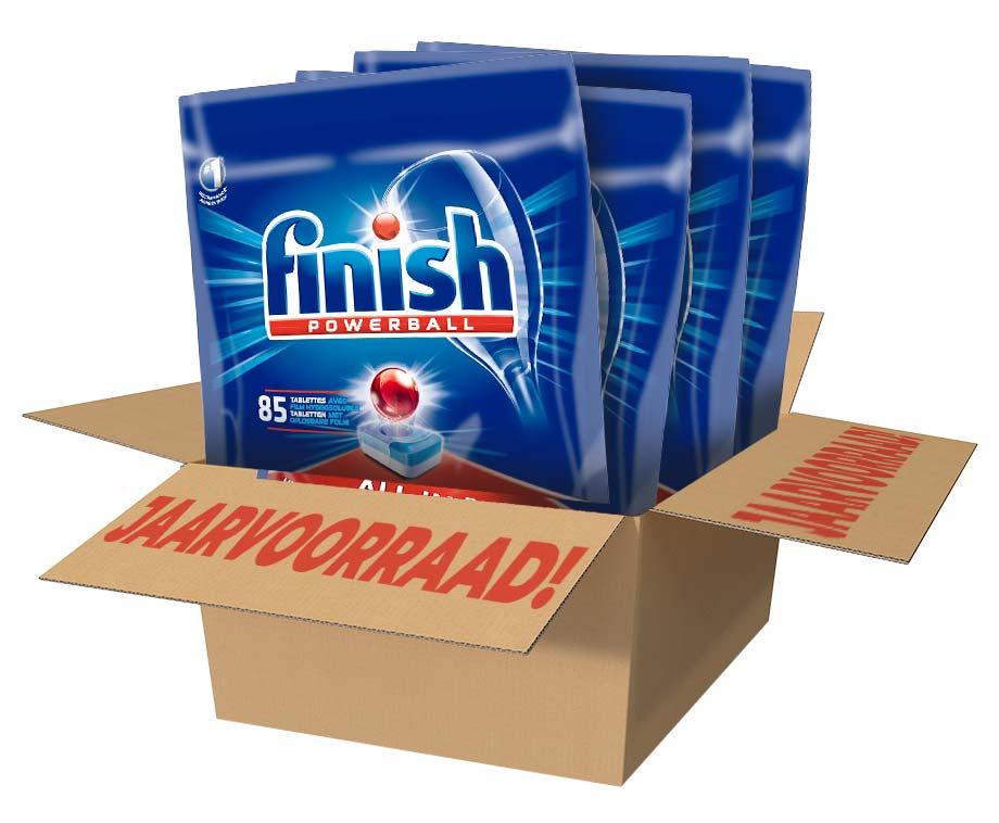 JAARVOORRAAD: Finish Powerball All-In-1 Regular 340 Tabs