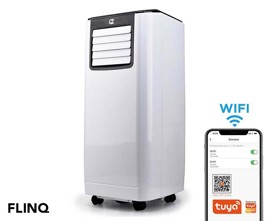 Flinq Mobiele Smart Airco 9.000 BTU - Met Handige Tuya Smart App!