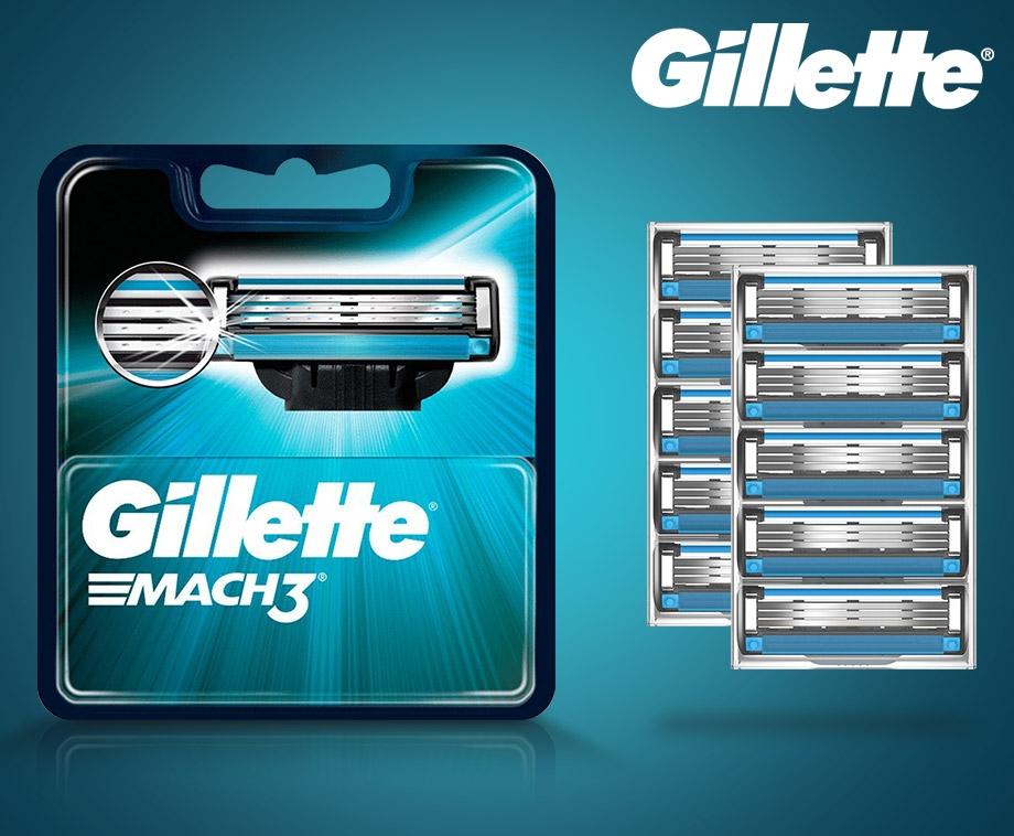Originele 16-pack Gillette Mach3 Scheermesjes - Bulk Voordeel!