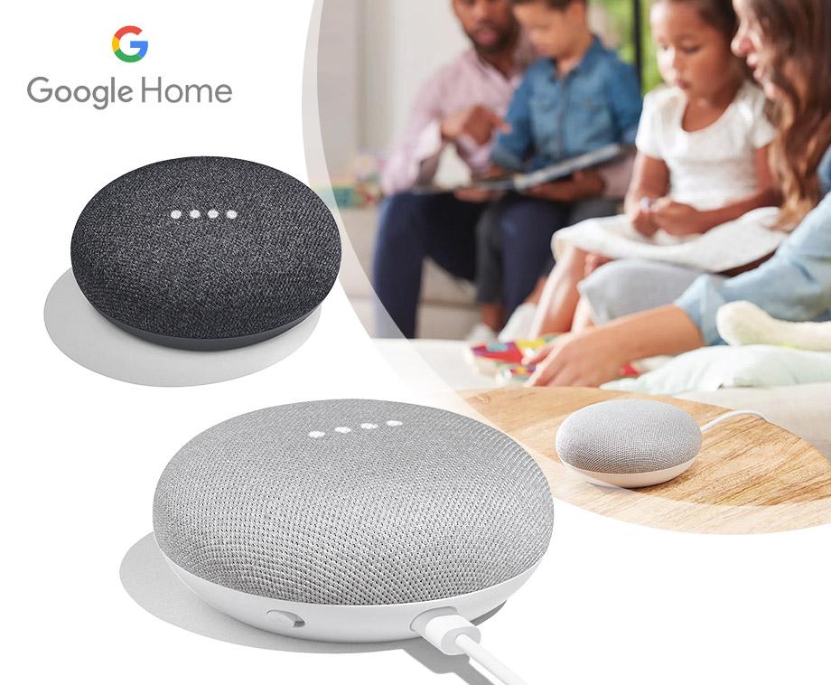 Google Home Mini Slimme Speaker - Verkrijgbaar In 2 Kleuren!