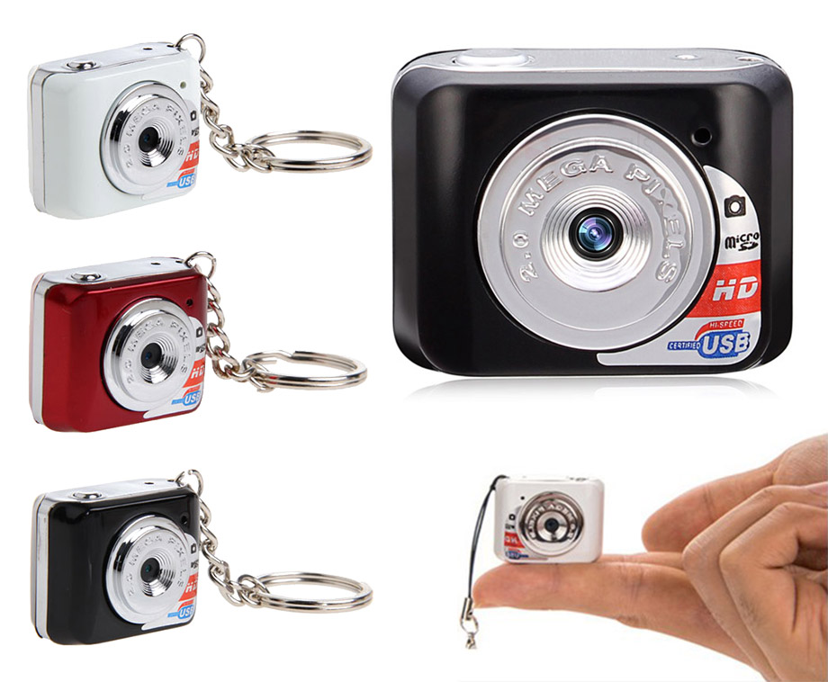 HD Camera Sleutelhanger - Verkrijgbaar In 3 Kleuren!