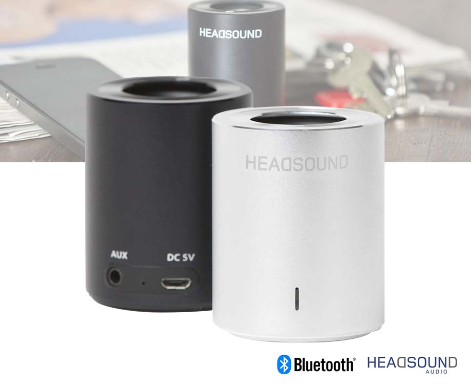 Headsound Tube Oplaadbare Speaker - Voor Telefoon, Tablet En Laptop!