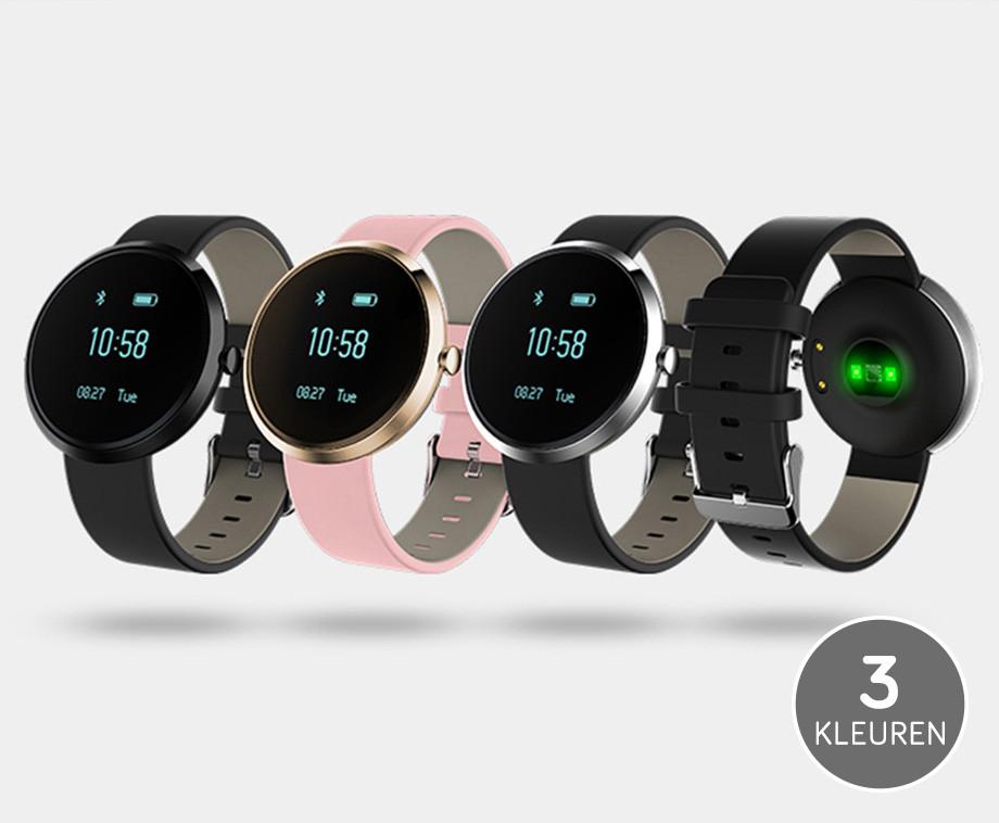 Stijlvolle Health Smartwatch - Met Ingebouwde Hartslagsensor!