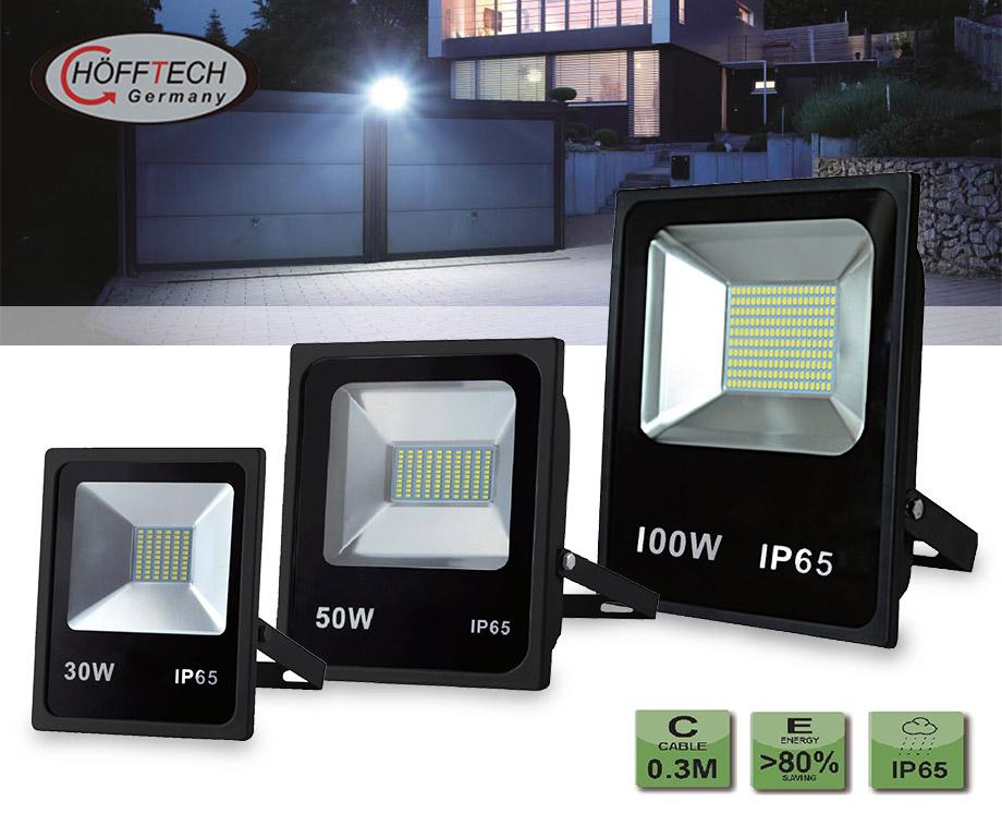 Hofftech Extreem Felle 30W, 50W Of 100W LED Stralers!