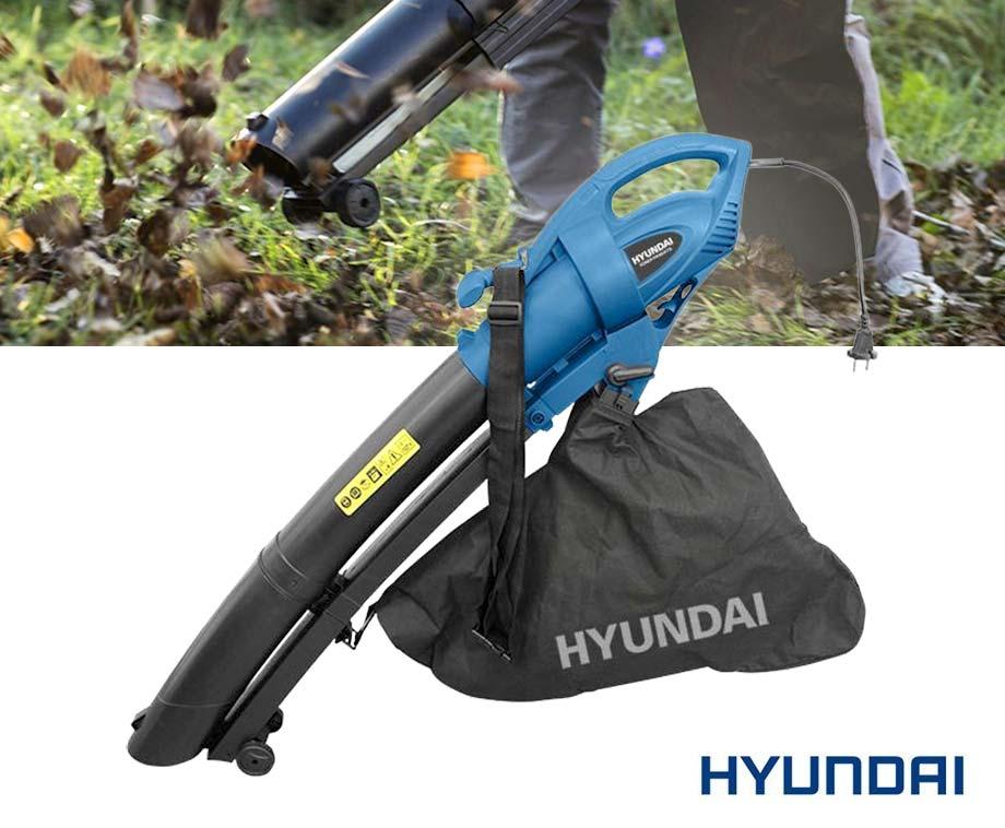 Hyundai 3-In-1 Elektrische Bladblazer - Met Opzuig- En...