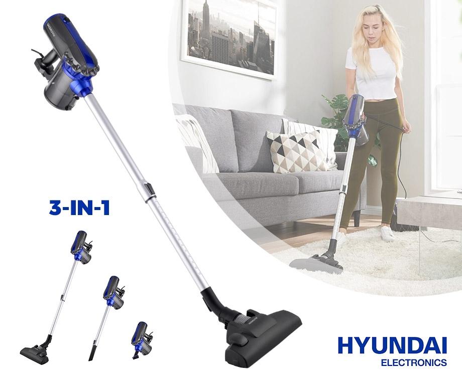 Hyundai Lichtgewicht Cycloonstofzuiger Bereik Gemakkelijk Alle...