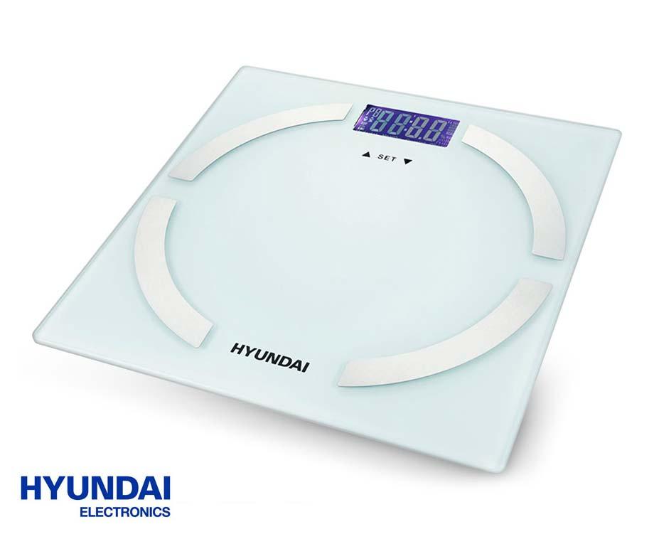 Hyundai Lichaamsanalyse Weegschaal - Meet Gewicht, BMI & Meer! - Voordeelvanger