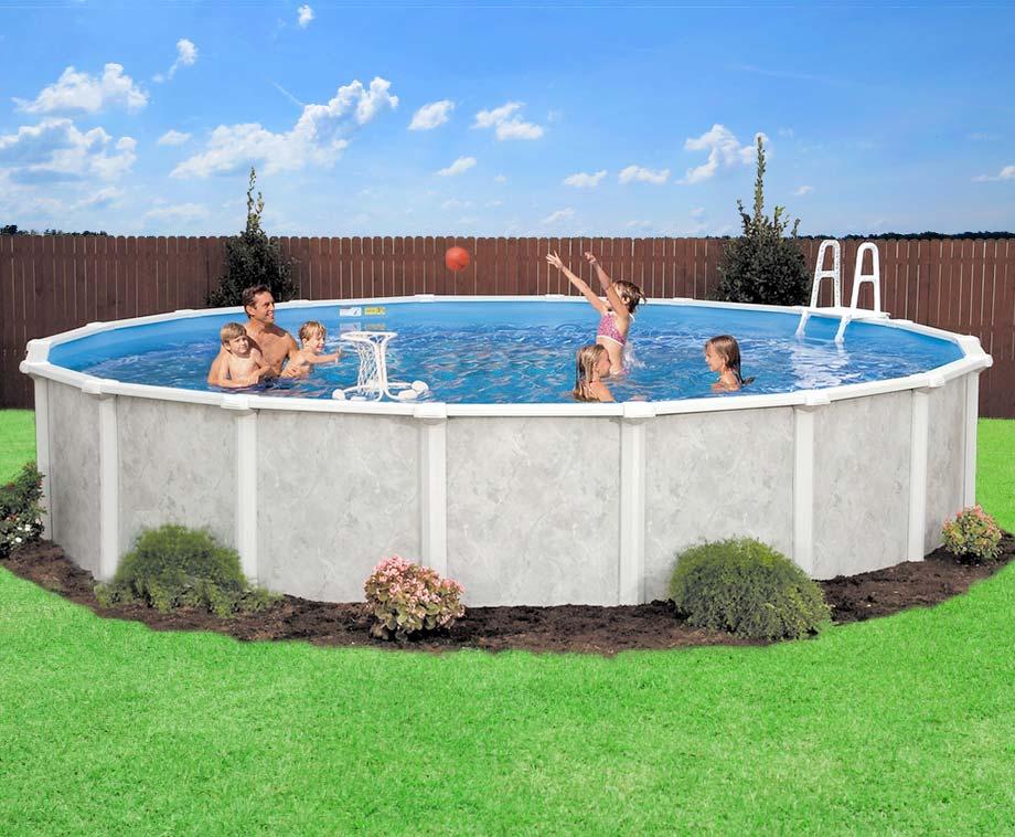 XXXL Interline Zwembad Met Filter En Ladder - Heerlijk Zwemmen In...