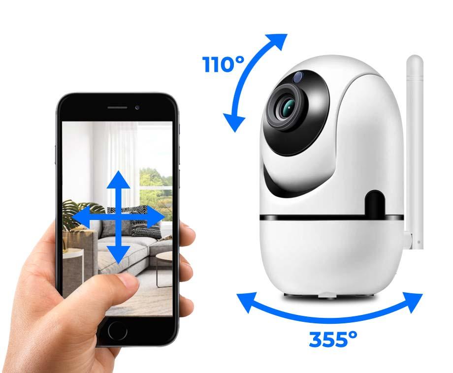 IP Wifi Beveiligingscamera HD - Met Nachtzicht En Bewegingsdetectie!
