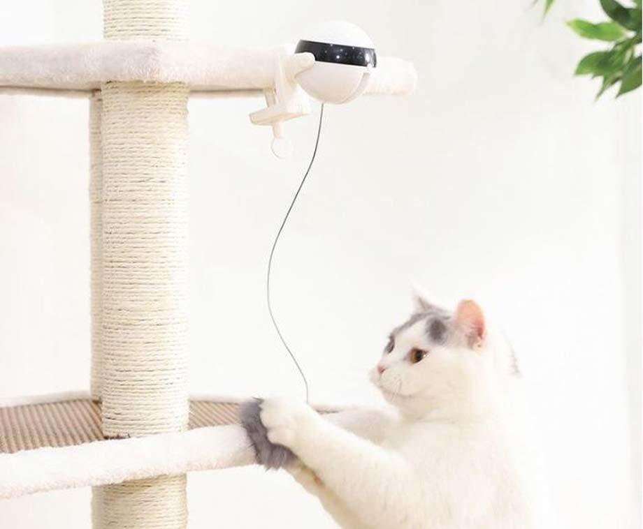 Elektrische Kattenhengel - Gegarandeerd Uren Jaag- En Speelplezier!
