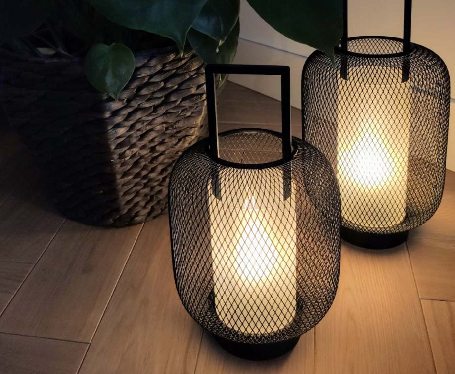 Sfeervolle LED Lantaarn Voor Binnen En Buiten - IP44 Waterproof!