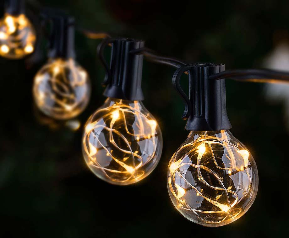 Luxe LED Lichtslinger - 8 Meter Lang Met 10 Lampen!