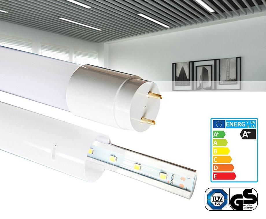 2-, 4- of 10-Pack LED Tubes In Verschillende Maten - Dé Vervanger Voor TL-Buizen