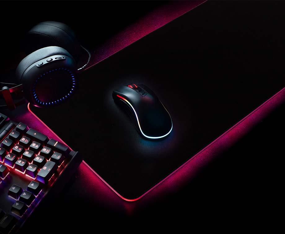 XXL Gaming Muismat - Met Adembenemende LED Verlichting!