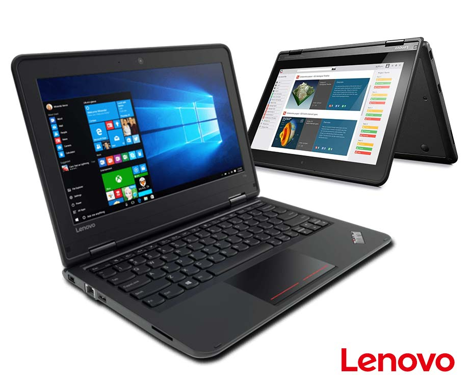"Lenovo Thinkpad 11E Refurbished - Met 11,6"" Touchscreen, Intel..."