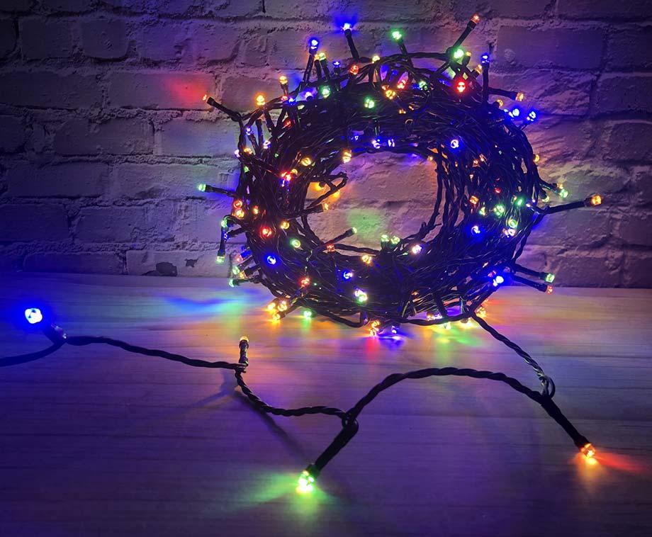 Lichtslinger 200 LEDs Met Instelbare Kleuren - Ook Te Bedienen Met...