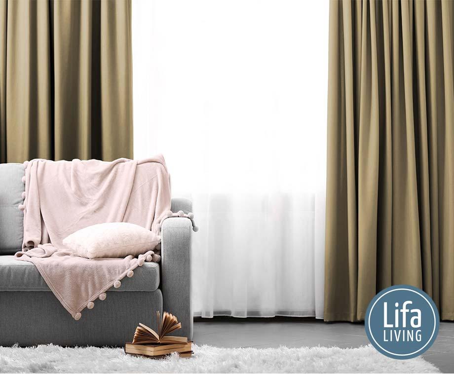Dagaanbieding - Lifa Living Verduisterende Gordijnen - Kant En Klaar In 2 Maten! dagelijkse koopjes