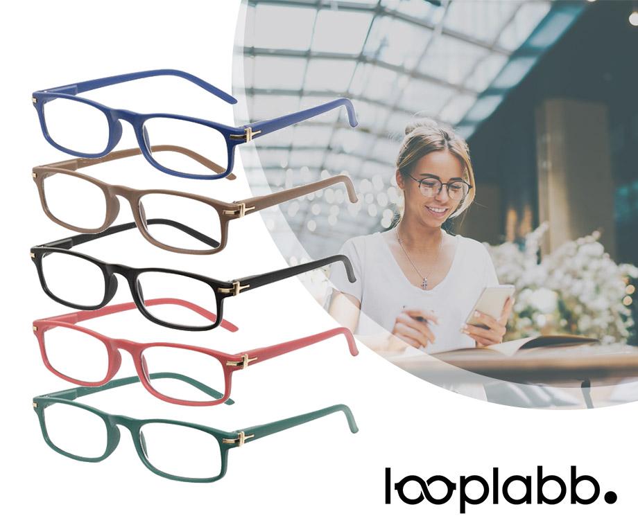 Looplabb Leesbril - Verkrijgbaar In Meerdere Kleuren En Sterktes!