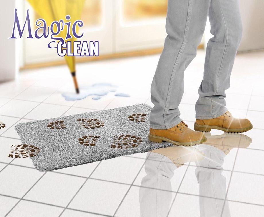 Magic Clean Droogloopmat Absorbeert Direct Vuil en Modder!