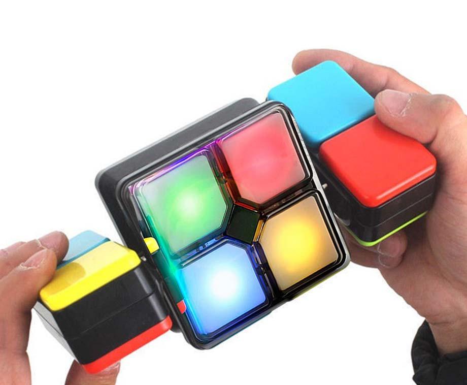 Magische LED Kubus Behendigheidsspel - Stel Je Hersenen Op De Proef!