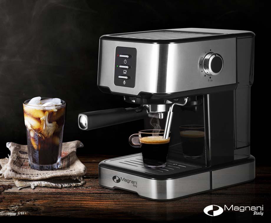Magnani Espressomachine - In Een handomdraai Een Heerlijke Kop Koffie!