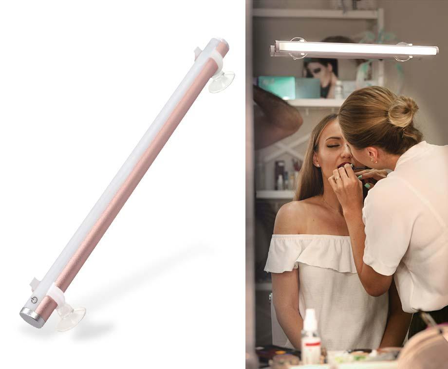 Draadloze Make-Up Light - Makkelijk Te Bevestigen Op Een Spiegel!