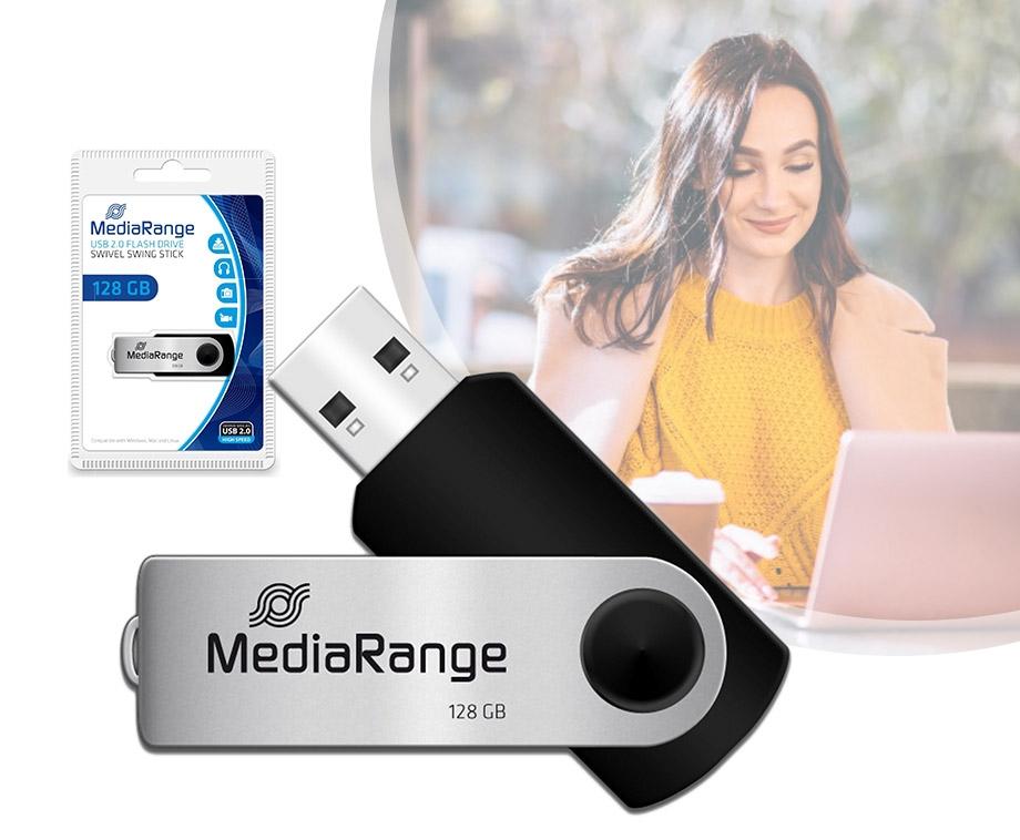 128GB USB Stick - Voor Foto  s, Films En Andere Bestanden!