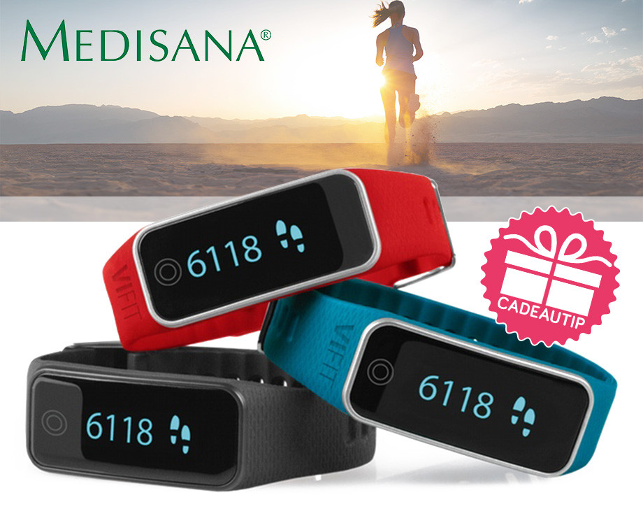medisana vifit touch activity tracker cadeautip aanbieding voordeelvanger. Black Bedroom Furniture Sets. Home Design Ideas