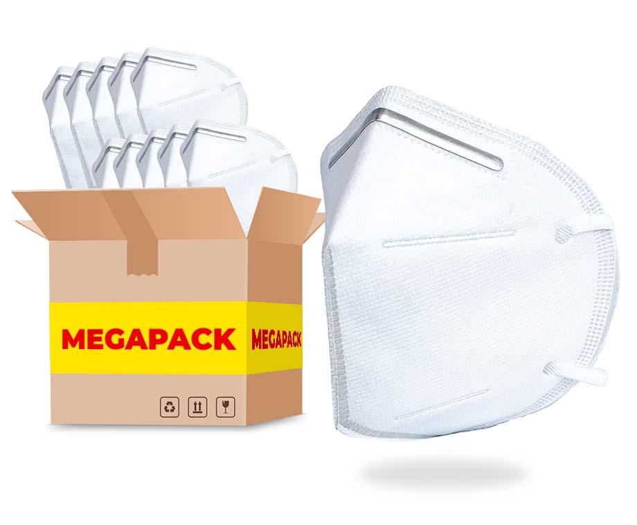 MEGAPACK 5-Laags KN95 Mondkapjes - Bescherm Jezelf En Anderen!