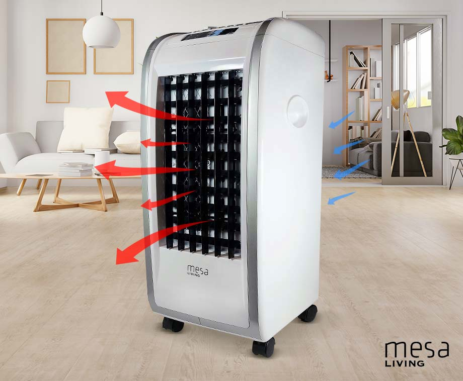 Mesa Living 4-In-1 Heater - Met Timerfuntie En Afstandsbediening!