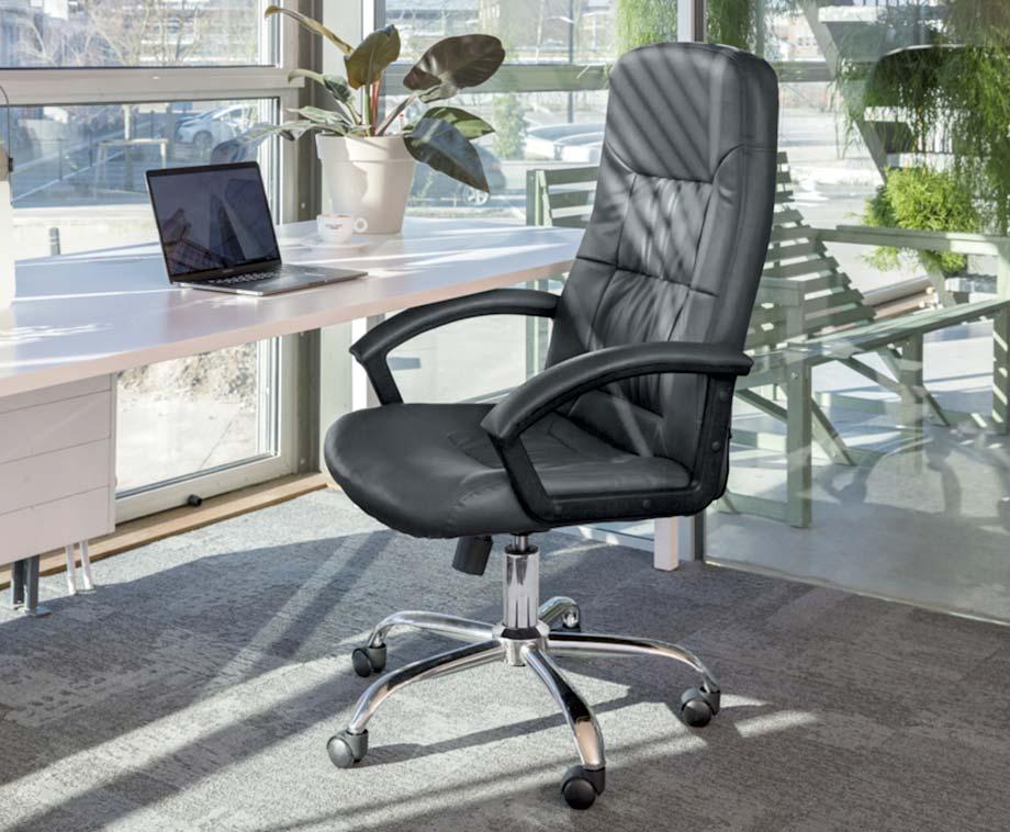 Luxe Verstelbare Bureaustoel - Richt Thuis Een Comfortabele...