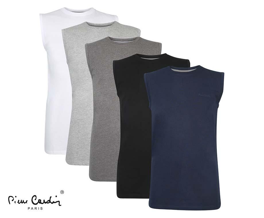 Pierre Cardin Mouwloos Shirt - Verkrijgbaar In 5 Kleuren!