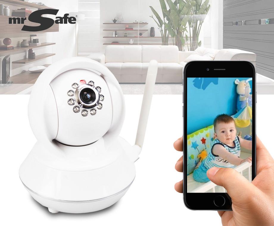 Mr. Safe Draadloze HD Indoor IP Pro – Bekijk En Bewaak Je Familie, Huis en Bedrijf!