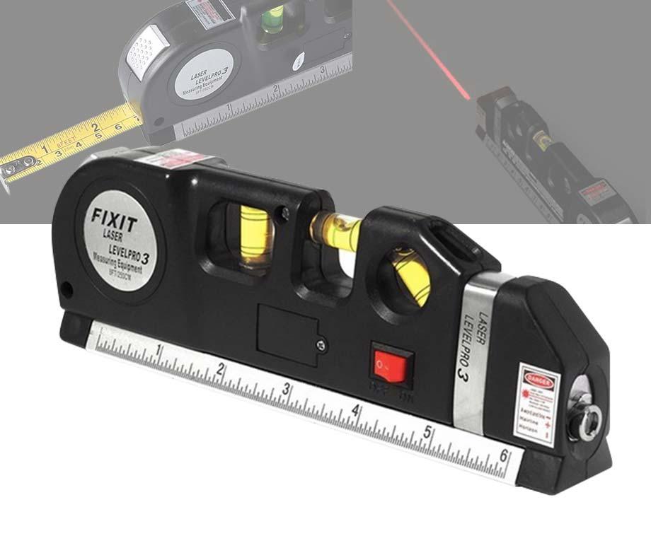 Multifunctioneel Meetlint - Met Laser En Waterpas!
