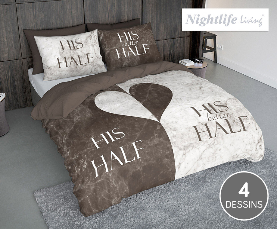 Luxe Nightlife Dekbedovertrekken - Kies Uit Diverse Dessins En Kleuren!