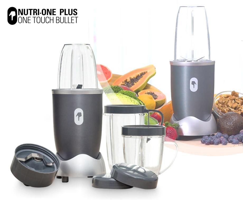 Nutri One Plus Blender - Maak Verse Sappen, Smoothies En Shakes!