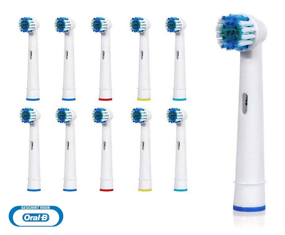 10-Pack Opzetborstels Voor Oral-B Elektrische Tandenborstels! <br/>EUR 4.95 <br/> <a href='https://www.voordeelvanger.nl/voordeel/?tt=24641_1458552_321771_&r=https%3A%2F%2Fwww.voordeelvanger.nl%2F10-pack-opzetborstels-voor-oral-b-elektrische-tandenborstels.html' target='_blank'>Bekijk de Deal</a>