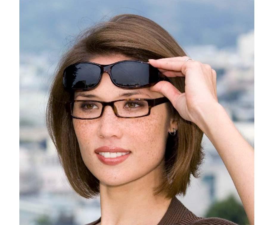 Set Van 2 Overzetzonnebrillen Zwart - Met Polariserende Glazen! - Voordeelvanger