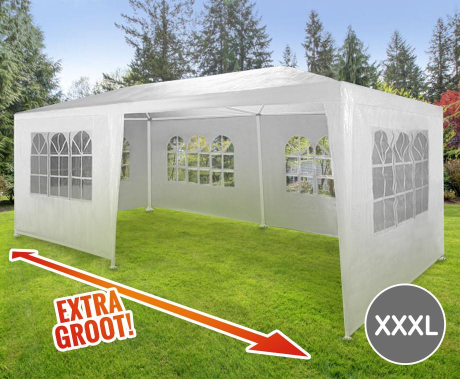 Partytent XXXL Formaat - Flexibele Oplossing Voor Ieder Tuinfeest!