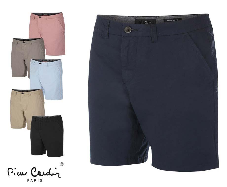 Dagaanbieding - Pierre Cardin Chino Shorts - Verkrijgbaar In 6 Kleuren! dagelijkse koopjes