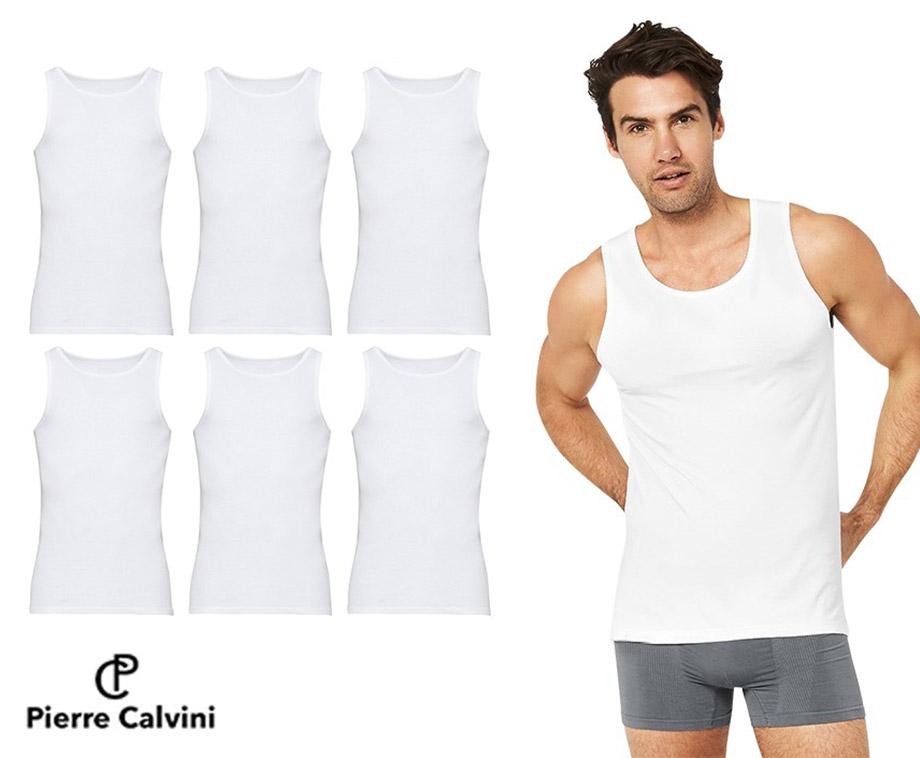 Dagaanbieding - 6-Pack Pierre Calvini Hemden - Van Hoogwaardig Katoen! dagelijkse koopjes