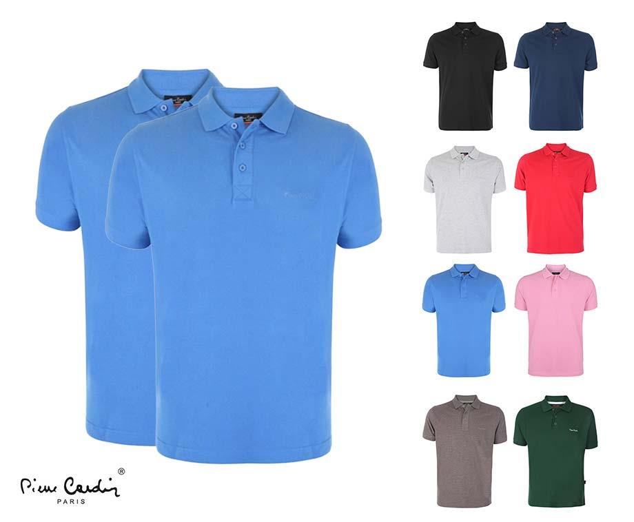 Dagaanbieding - Pierre Cardin Katoenen Polo's 1+1 GRATIS - Alle Combinaties... dagelijkse koopjes