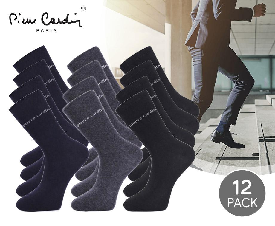 12-Pack Pierre Cardin Sokken - Sla Voordelig Een Voorraad In!