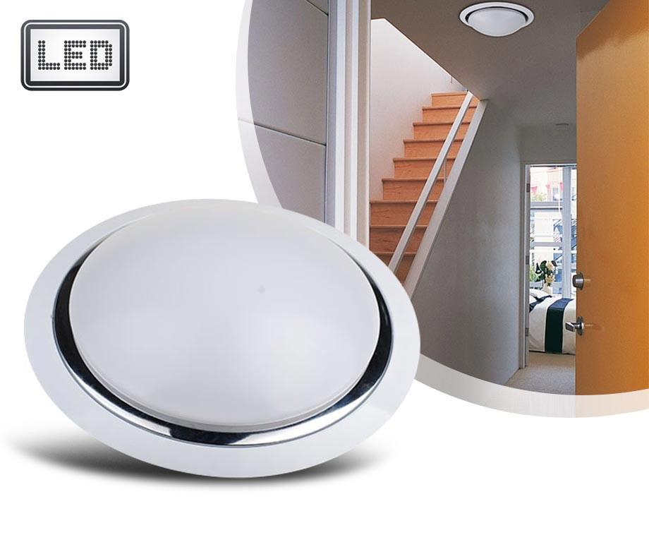 Stijlvolle Plafonniere Badkamer : Led plafondlamp met of zonder sensor aanbieding outspot