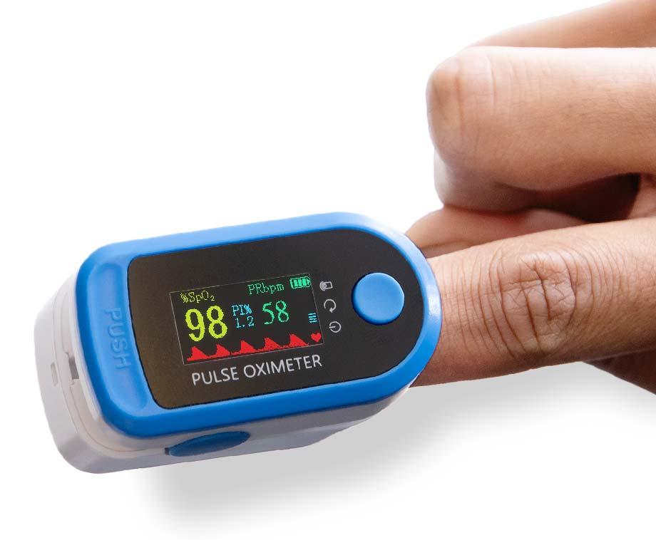 Pulse Oximeter - Meet Snel Je Hartslag En Zuurstofgehalte In Je Bloed!