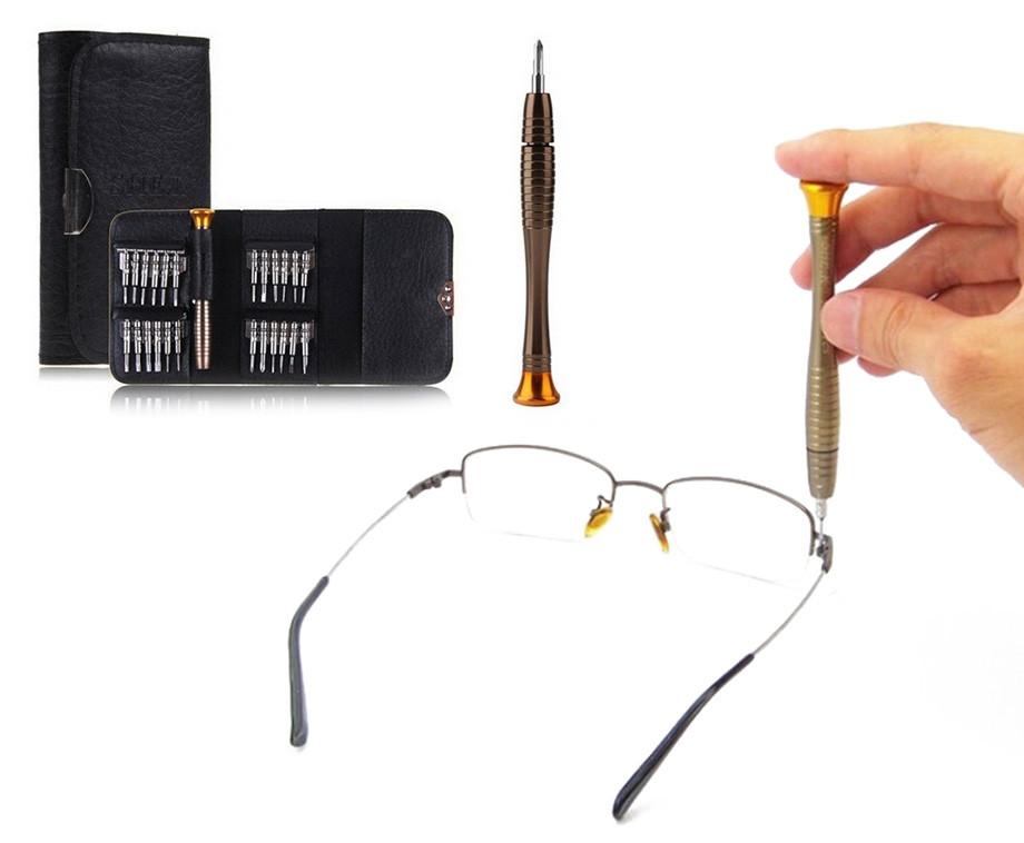 Reparatie Set Voor Smartphone, Laptop, Brillen & Meer - In Handig Tasje!