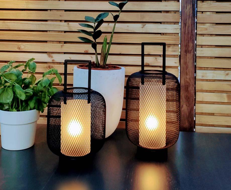 Dagaanbieding - Set Van 2 Sfeervolle LED Lantaarns - Voor Binnen Of In De Tuin! dagelijkse koopjes