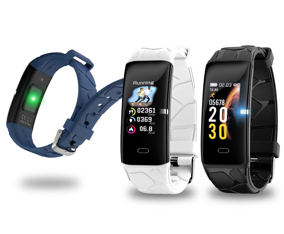 Foto Smartwatch Bracelet - Met Hartslagmeter En Zuurstof Monitoring!